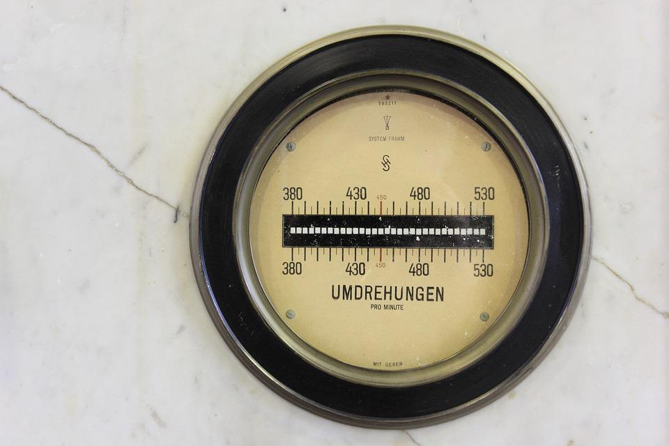 Germany, Henrichenburg, Boatlift, Meter, Dial, Gauge