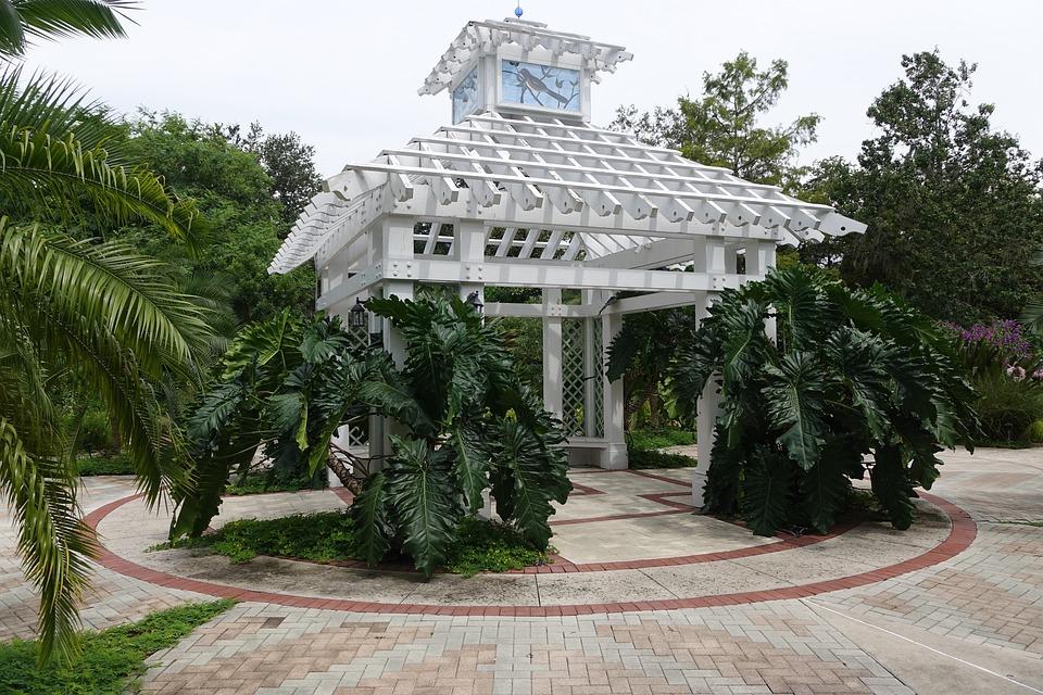 Gazebo, Nature, Greenhouse, Summer, Park, Outdoor