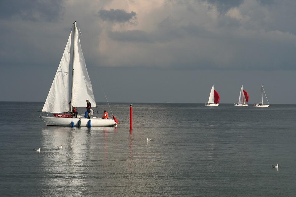 Gdańsk, Baltic Sea, Sea, Sailing Boats, Poland