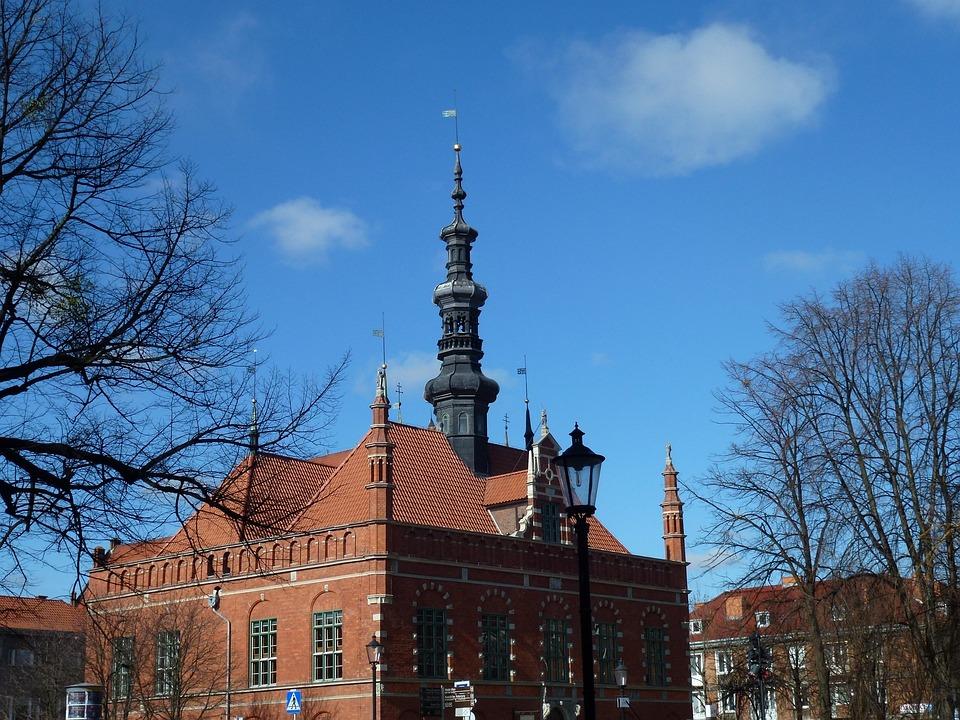 Trojmesto, Gdaňsk, Poland, Architecture, Cities