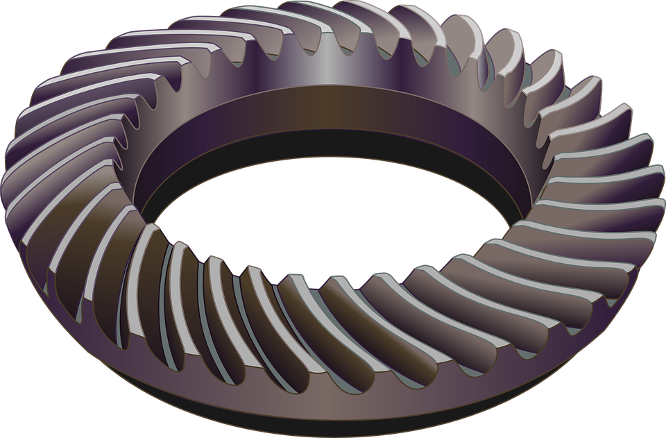 Gears, Spiral Bevel Gears, Bevel Gear, Toothed Wheels
