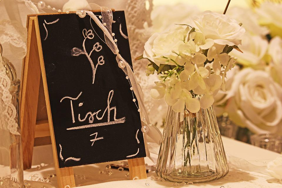 Gedeckter Table, Place Cards, Table Cards, Wedding