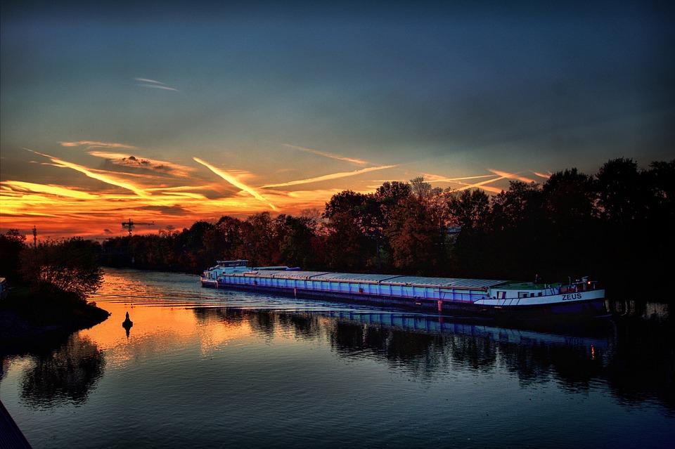 Gelsenkirchen, Port Bismark, Rhine Herne Canal
