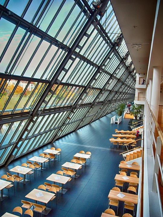 Gelsenkirchen, Science Park, Technology, Glass