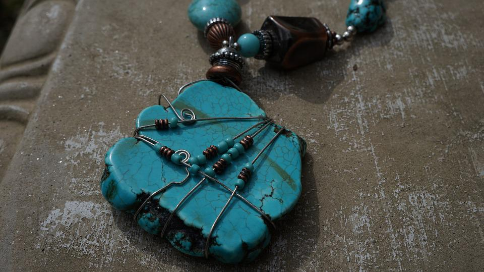 Jewelry, Stone, Necklace, Fashion, Gem, Blue, Gemstone
