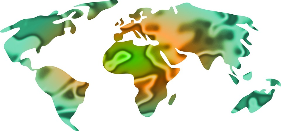 Map, Atlas, Countries, Country, Continents, Geography