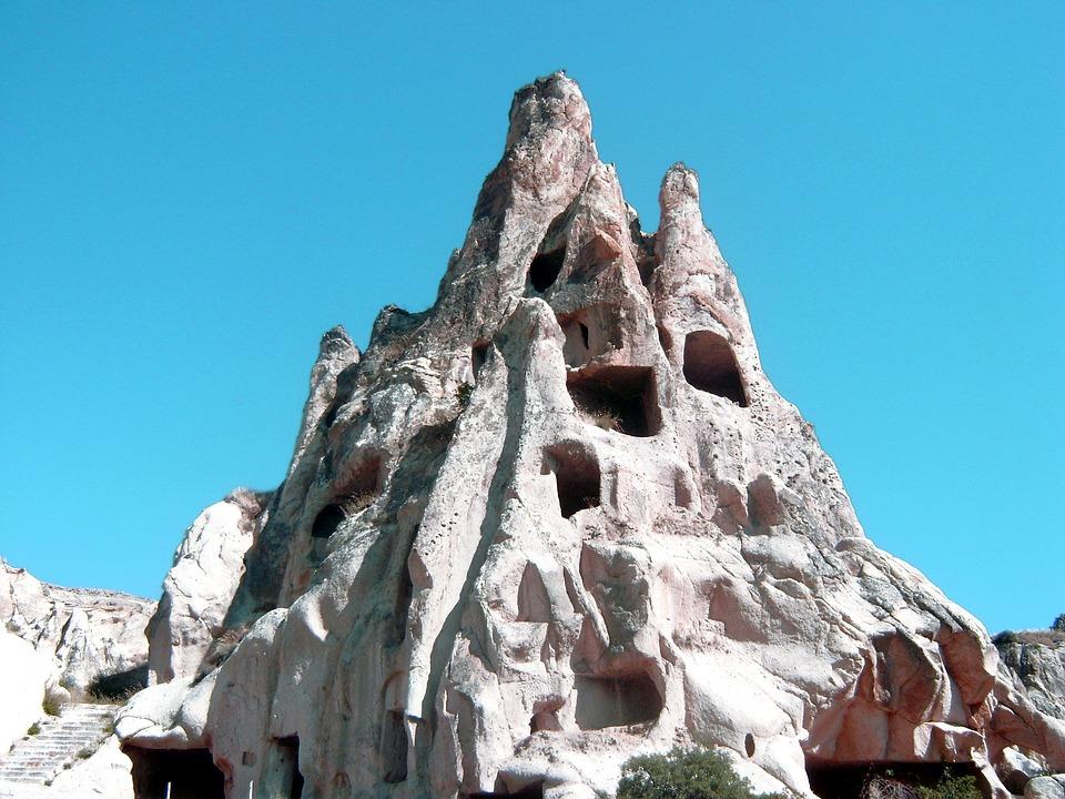 Cappadocia, Turkey, Geology, Houses, Old House, Stone