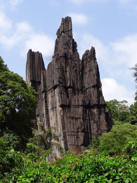 Yana, Rock Formation, Geology, Karst, Cliff, Landscape