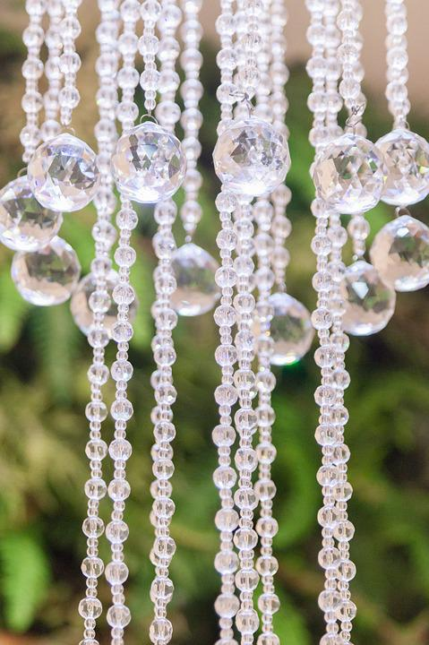 Chandelier, Abstract, Background, Geometric
