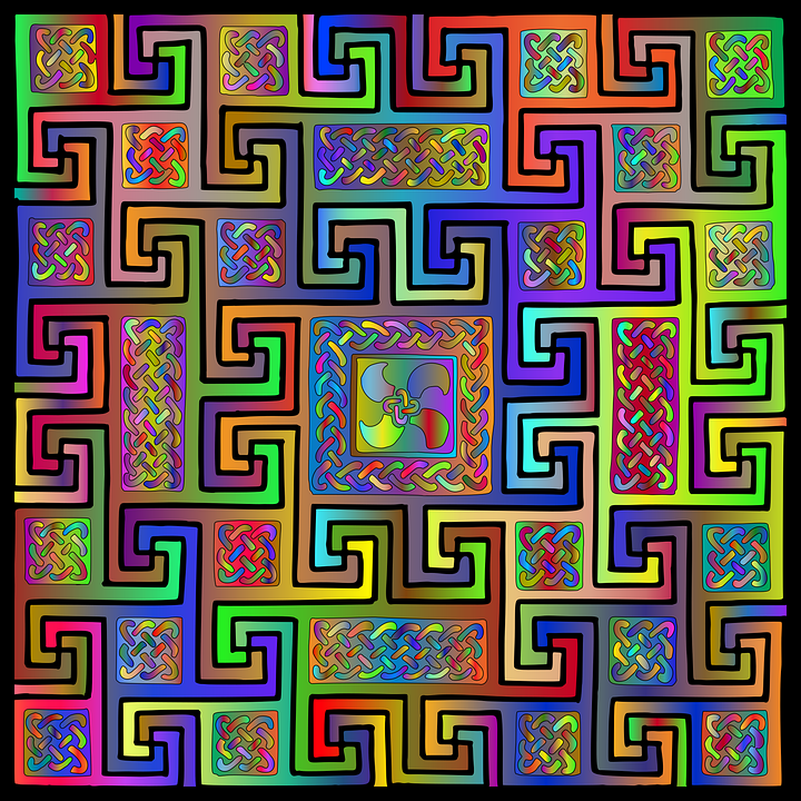 Celtic Knot, Pattern, Design, Abstract, Geometric, Tile