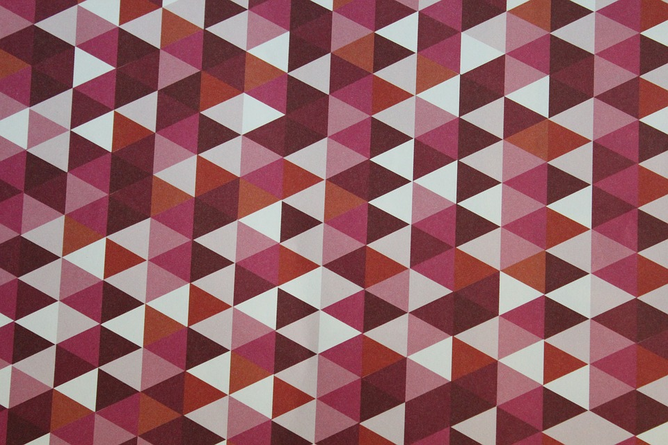 Pink, Geometric, Background