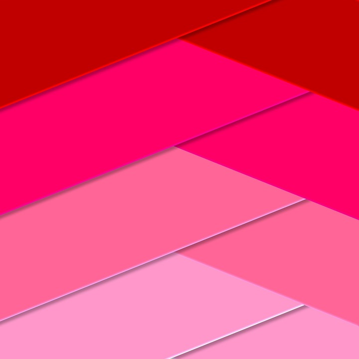 Geometric, Shapes, Magenta