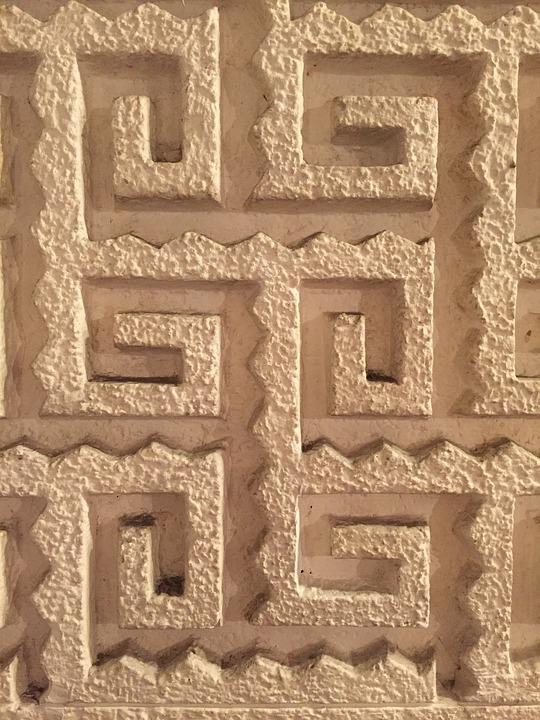 Relief, Texture, Wall, Geometric, Figure, Culture