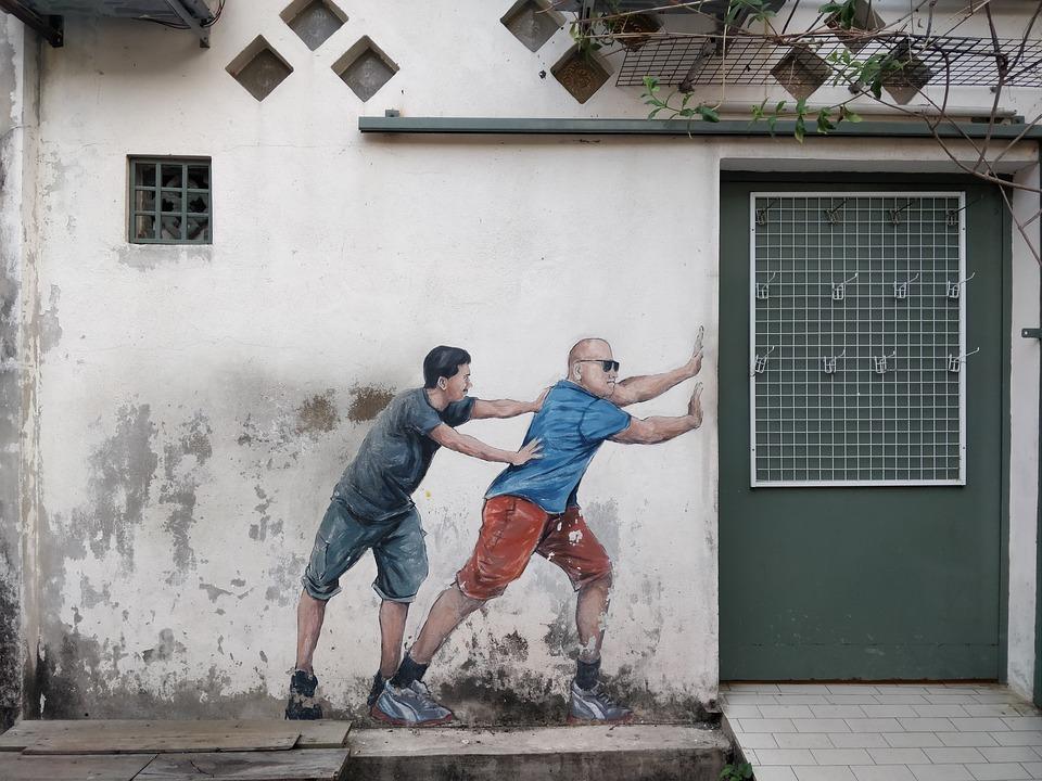 Graffiti, Paint, Wall, Street, Urban, Georgetown