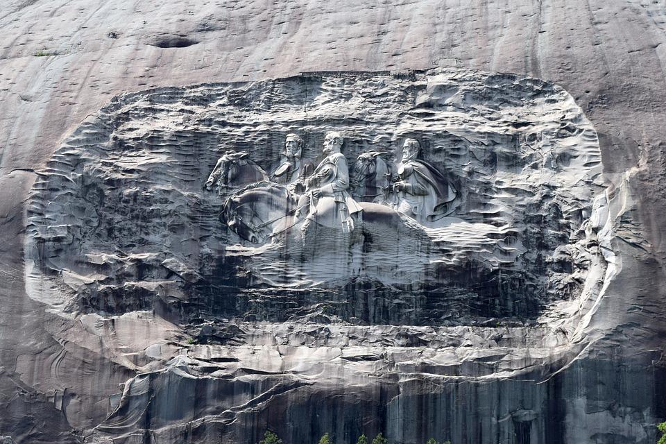 Stone Mountain, Georgia, Park, Historic, Landmark