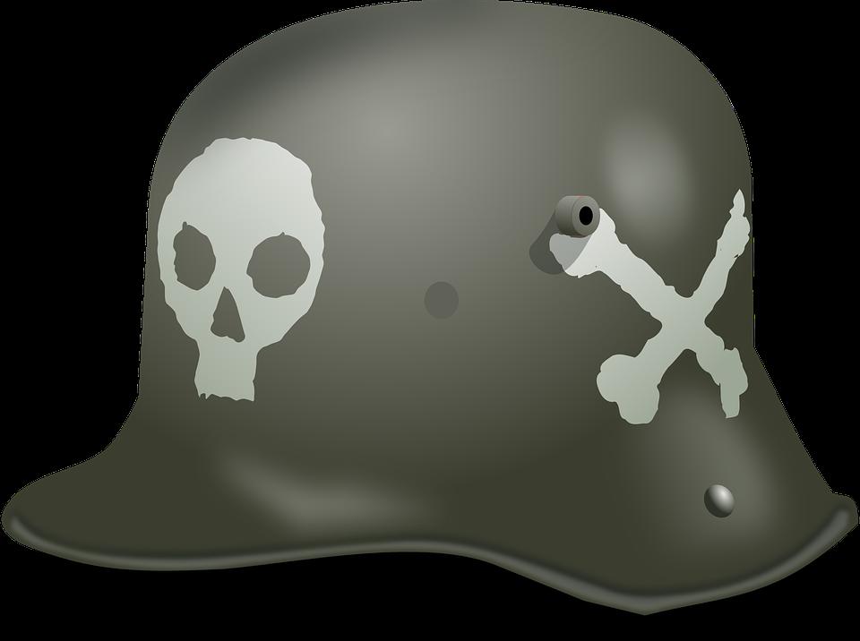 Hardhat, German, Helmet, World War 2, Ww2, Wwii, Nazi