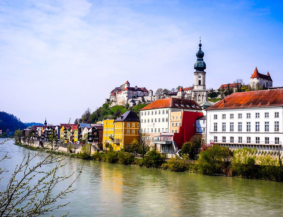 Burghausen, Germany, Bavaria, Architecture, Middle Ages