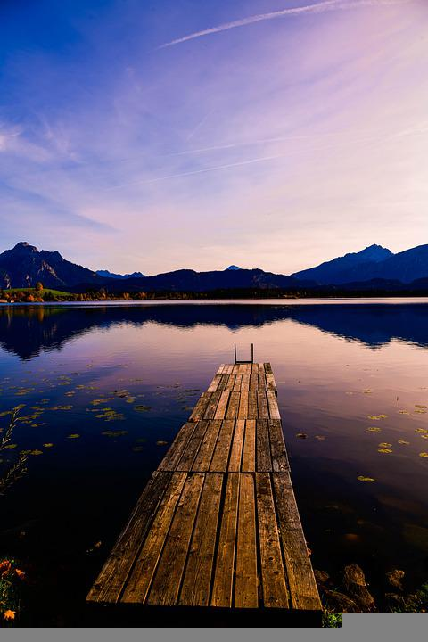 Bavaria, Lake, Autumn, Germany, Nature, Berchtesgaden