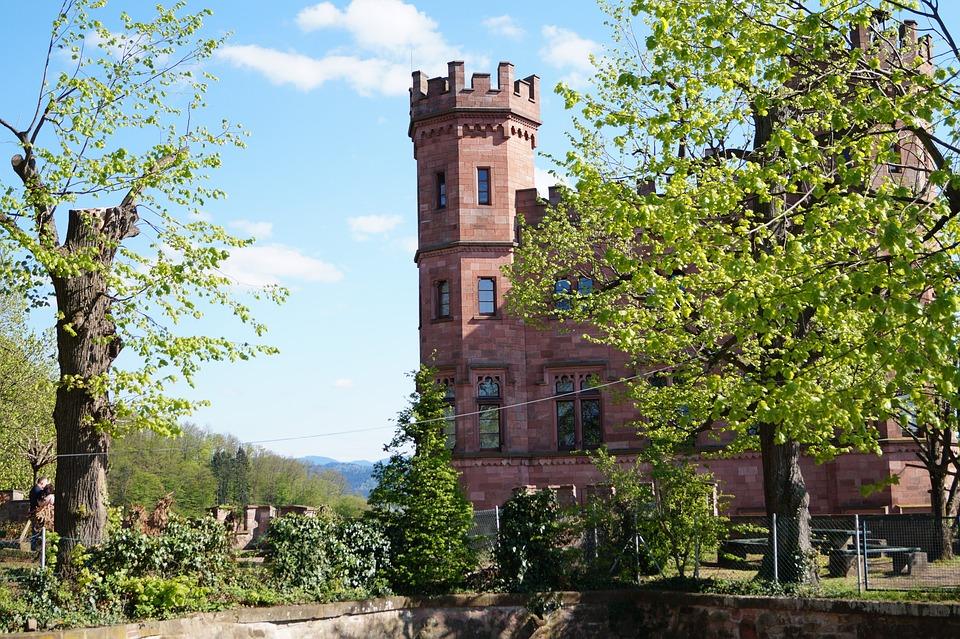 Castle, Nature, Beauty, Monument, Vista, Trip, Germany