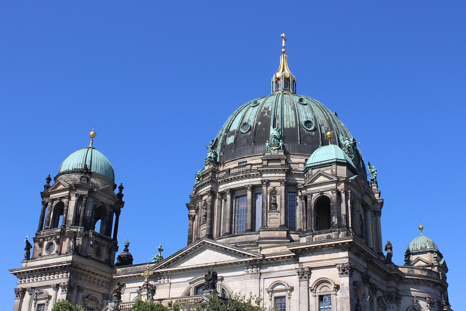 Berlin, Germany, Landmark, Architecture, Church