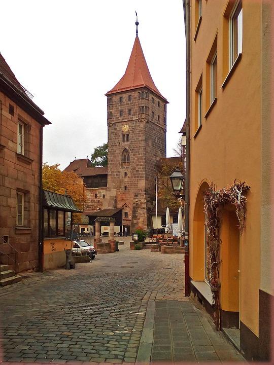 Nuremberg, City, Old Town, Building, Germany, Bavaria