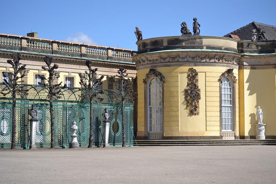 Potsdam, Castle, Building, Historically, Germany