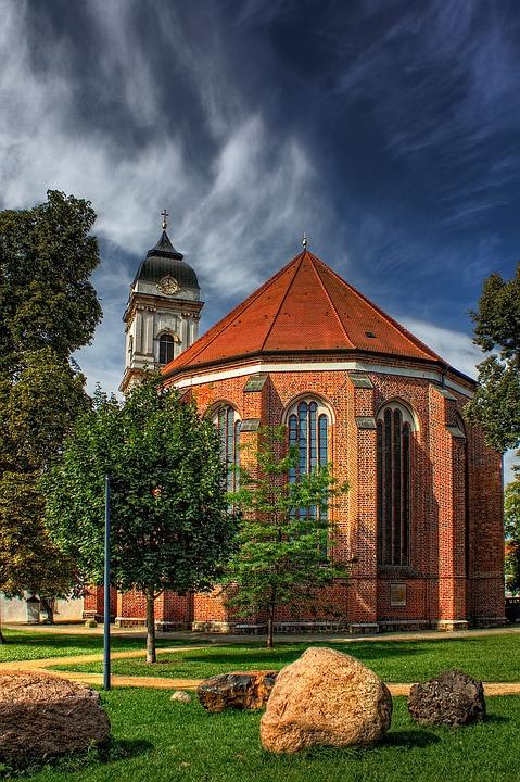 St Mary's Cathedral, Church, Fürstenwalde, Germany