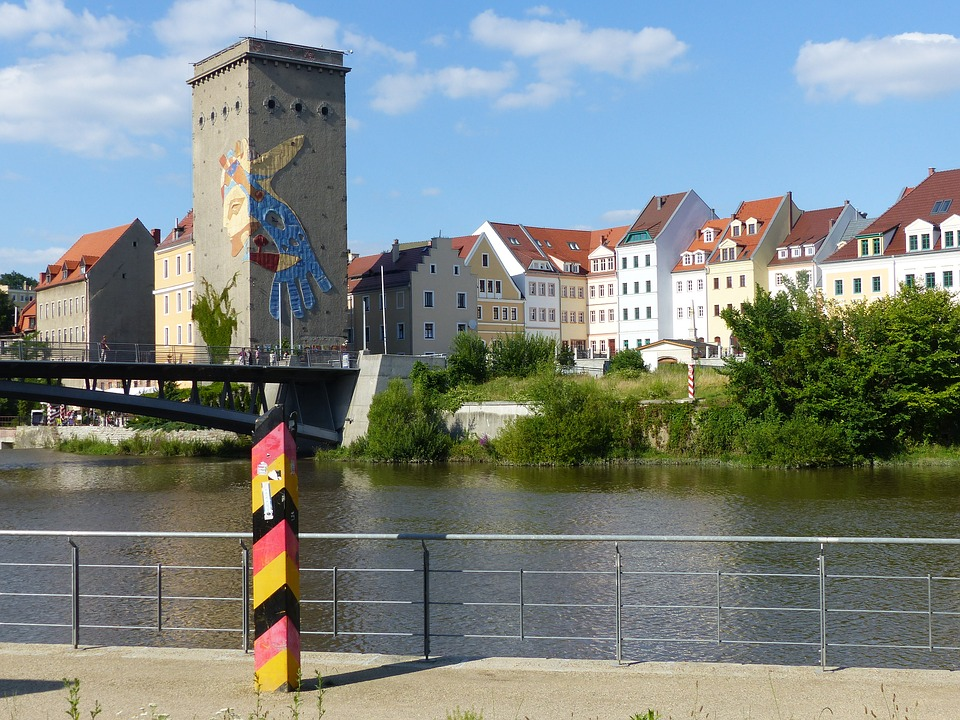 Görlitz, Neiße, View, Town, Germany, Easternmost
