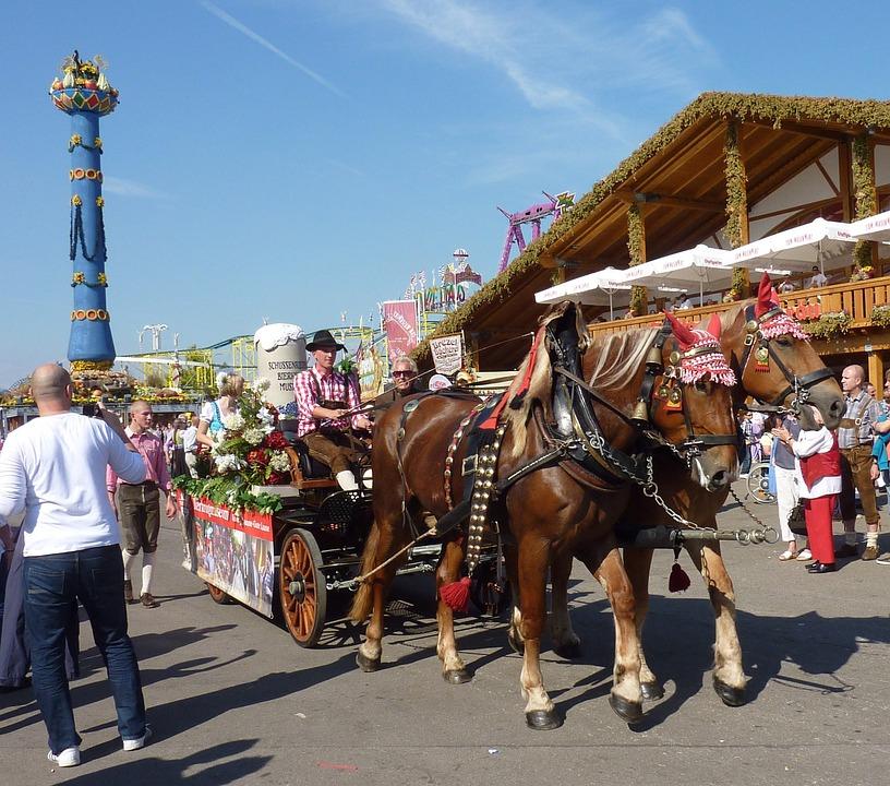 Germany, Festival, People, Buildings, Fun, Men, Women