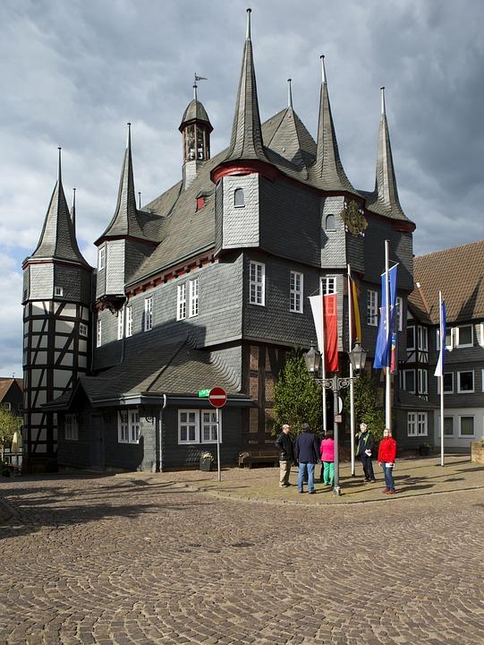 Frankenberg Town Hall, Hessen, Germany, Historical