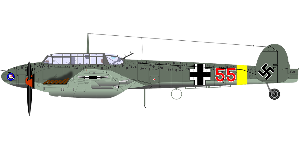 Aircraft, Airplane, Germany, Historical, Ww 2