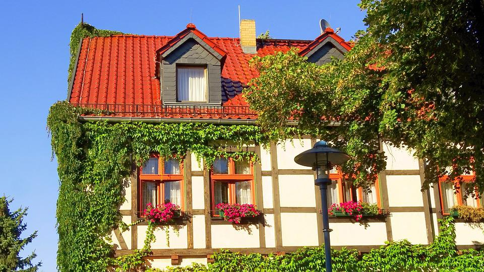 Germany, Building, Window, Home, Facade, Old Window