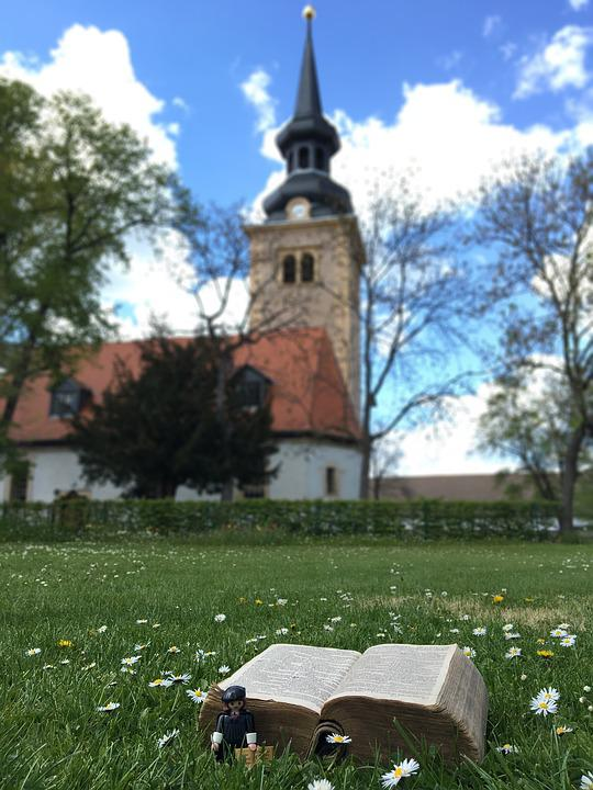 Church, Luther, Erfurt, Germany, Bible, Protestant