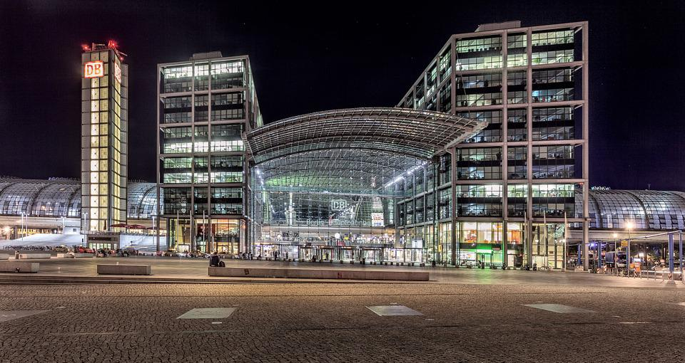 Berlin, Germany, Central Station, Railway Station