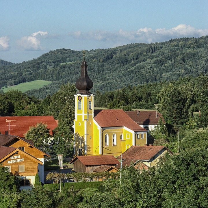 Rattiszell, Germany, Landscape, Scenic, Town, Village