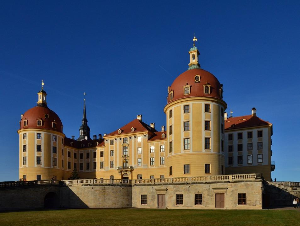 Moritz Castle, Saxony, Castle, Germany