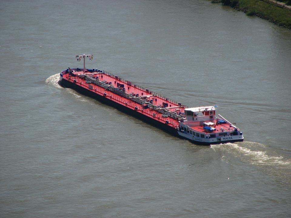 Ship, Rhine, River, Rhine Ship, Shipping, Germany