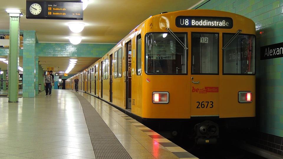 Alexanderplatz, Berlin, Germany, Metro, Transportation