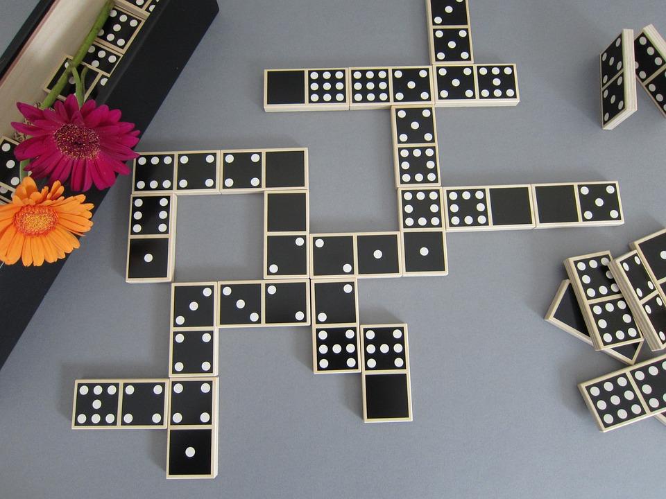 Domino, Play, Dominoes, Mind Game, Gesellschaftsspiel