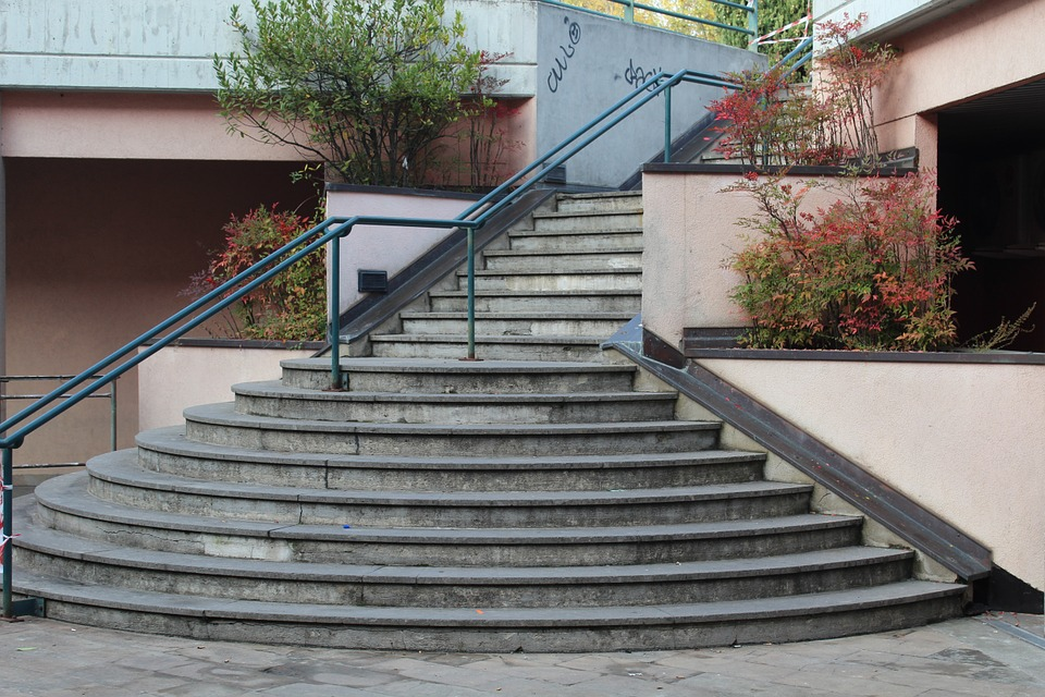 Stairs, Steps, Staircase, Ascent, Get Down, Climb