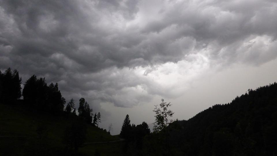 Gewitterstimmung, Nature, Clouds, Landscape