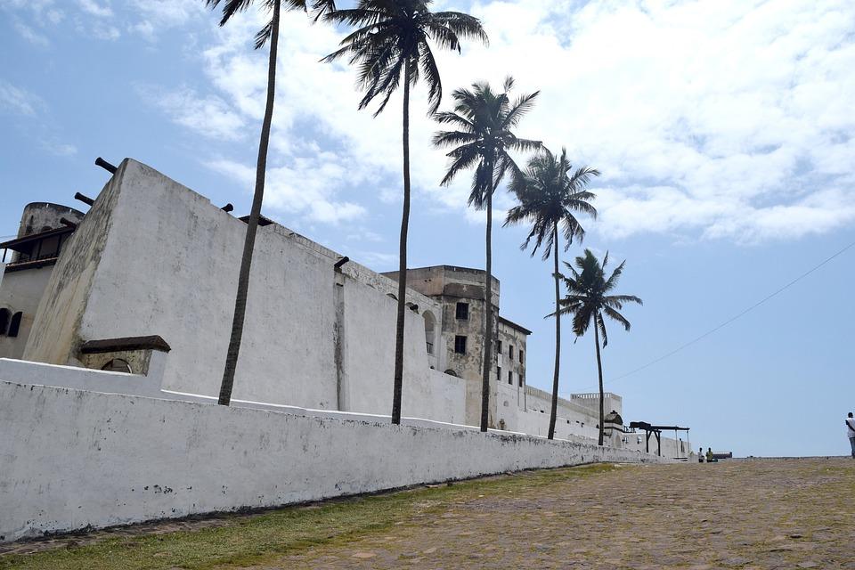 Elmina, Slave Castle, Cape Coast, Ghana, Palm, Slavery