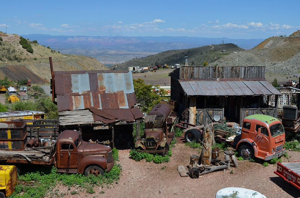 Jerome, Arizona, Town, Old, Copper, Desert, Ghost