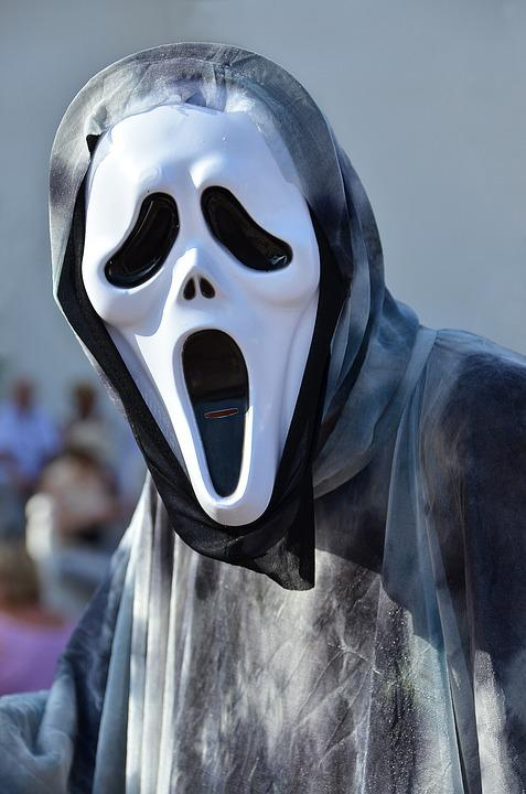Free photo Ghost Mask Haloween Film Skull Fear Horror Yell - Max Pixel