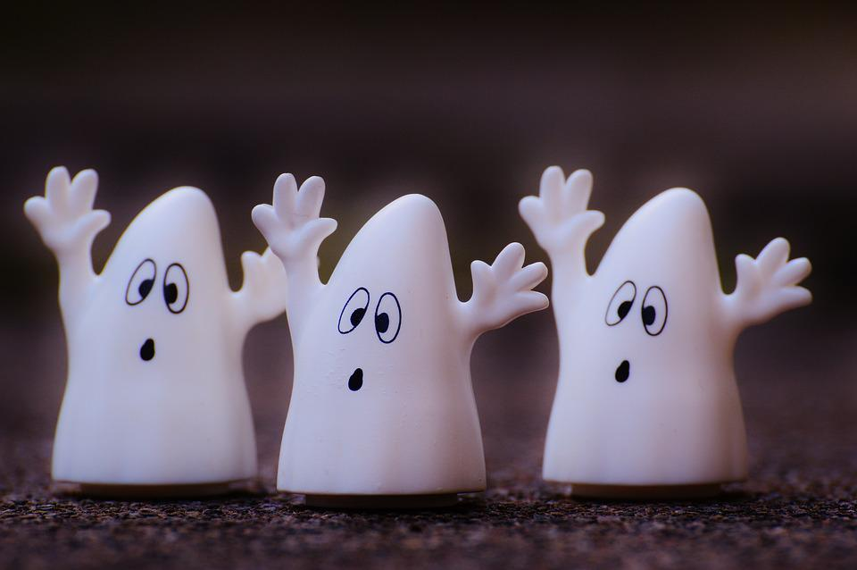 Ghost, Ghosts, Funny, Plastic, Toys, Cute, Fun, Fig