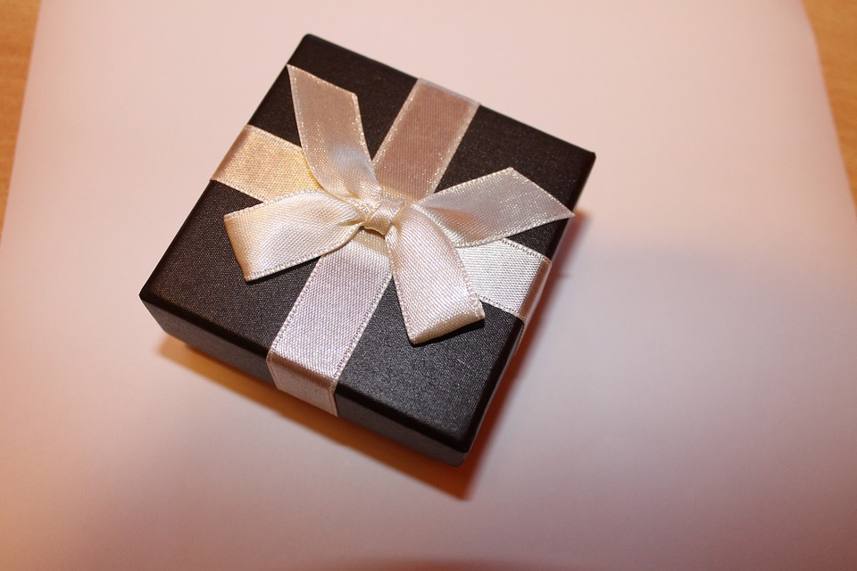 Gift, Gift Box, Box, Gift Packaging, Loop, Keepsake Box