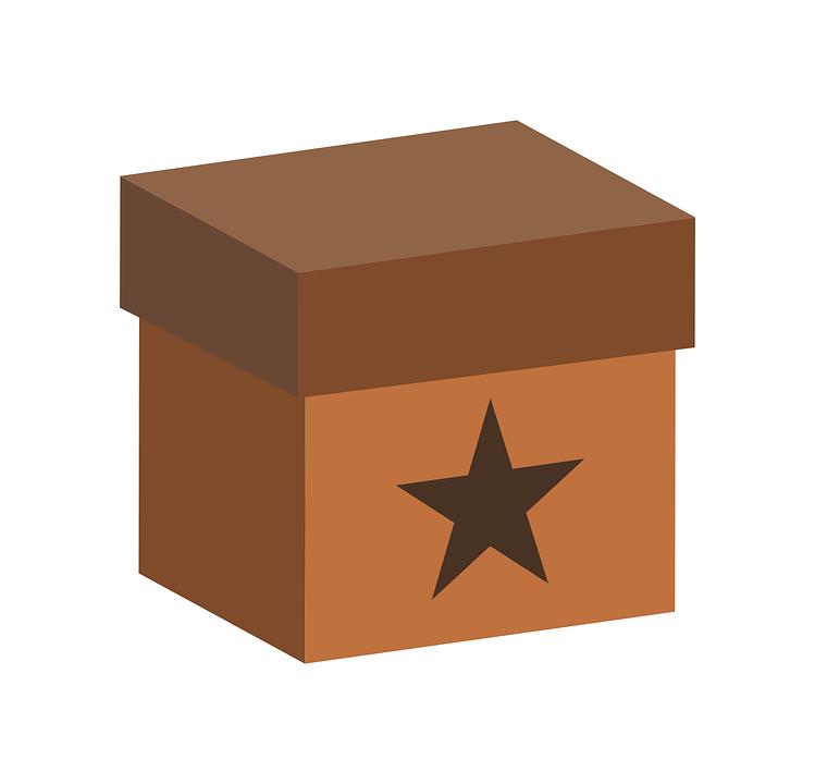 Box, Star Shape, Shape, Gift, Star, Xmas, Christmas