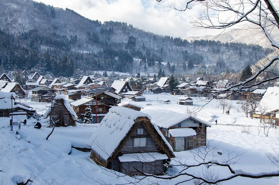 Shirakawa-go, Traditional, Japan, Gifu, Old, House
