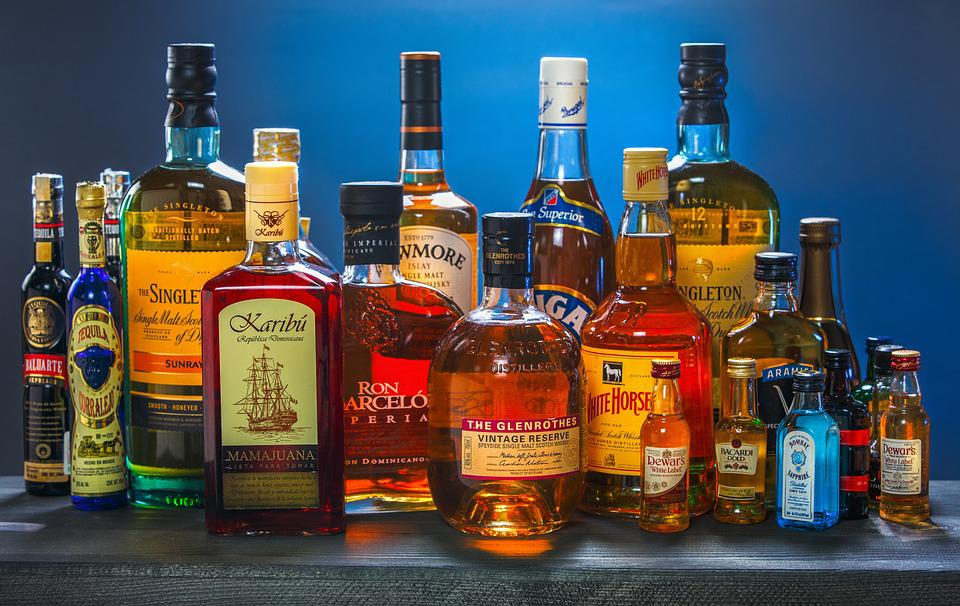 Bottle, Drink, Alcohol, Whiskey, Rum, Tequila, Gin