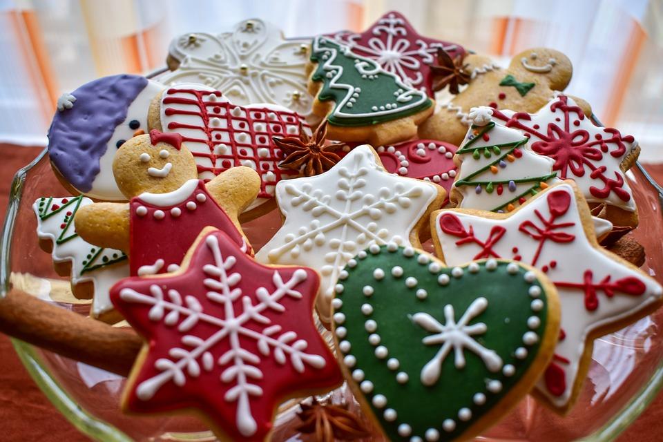 Christmas, Gingerbread, Holiday, Cookies, Star, Xmas